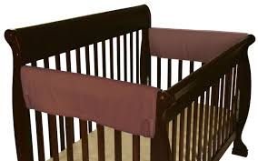amazon com leachco easy teether soft u0026 padded crib rail cover