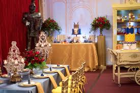 Karas Party Ideas Be Our Guest Beauty And The Beast Birthday - Beauty and the beast dining room