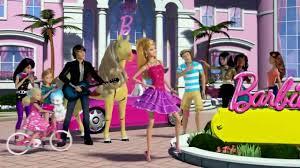barbie dreamhouse frozen elsa u0026 anna disney princess sleepover