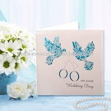Love Bird Wedding Invitations 2011 Red Leaves Love Birds Laser Cutting Wedding Invitation