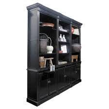 Amish Bookshelves by Furniture 4 Shelf Solid Wood Bookcase With Open Front And Back