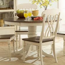 Long White Dining Table by Small Round Pedestal Dining Table Black Faux Leather Tall Backrest