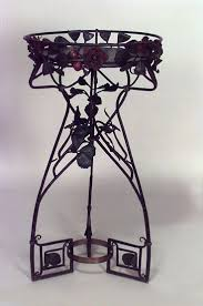 Iron Home Decor by Art Nouveau Art Nouveau Misc Furniture Fernery Wrought Iron Art