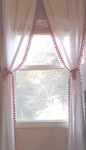 Curtain Holdback Ideas The Best Curtain Tie Backs Ideas On Pinterest Diy White Curtains