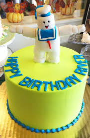 marshmallow man birthday cake image inspiration of cake and