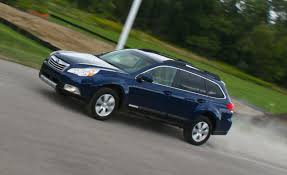 subaru station wagon interior 2010 subaru outback 3 6r u2013 instrumented test u2013 car and driver