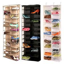 shoe organizer buy hanging shoe storage and get free shipping on aliexpress com