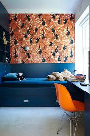 Peinture Couleur Chambre by Beautiful Chambre Peinture Orange Fonce Pictures Design Trends