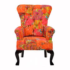 floral accent chairs with arms floral armchair home ideas