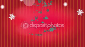animation illustration of christmas tree ornament icon with star