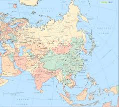 Interactive Map Of Asia by Map Of Asia