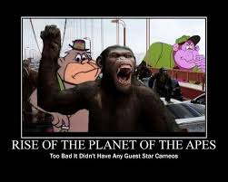 Planet Of The Apes Meme - rise of the planet of the apes needed cameo appearances flickr