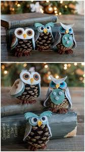 25 diy ornaments owl ornament felt owls and felting