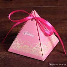 wedding gift boxes uk pyramid wedding favor boxes online pyramid wedding favor boxes