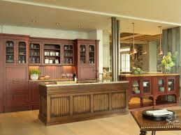 Kitchen Gratifying Rustic Kitchen Cabinets Throughout Classic