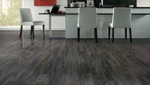 modern kitchen grey hardwood floors white bar