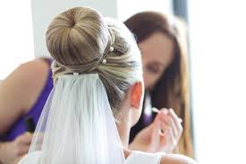 bridal hair bun big bun bridal hair style archives the s tree