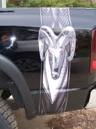 Dodge Cummins Truck Decals - carbon fiber wicked ram bed stripe stripes fit any truck suv
