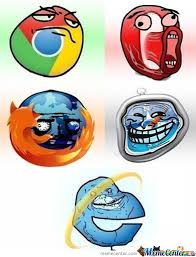 Who Are We Browsers Meme - internet google chrome firefox opera safari memes best collection
