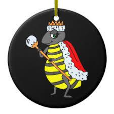 queen bee christmas tree decorations u0026 ornaments zazzle co uk