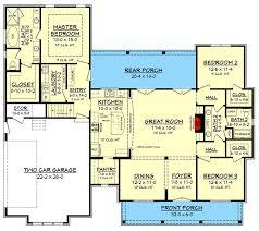 farmhouse plan budget friendly modern farmhouse plan with bonus room 51762hz