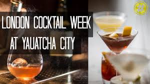 london cocktail week yauatcha city london trending youtube