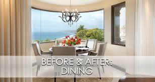 la jolla luxury dining room before u0026 after robeson design