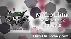 doodle army apk doodle army 2 mini militia v3 0 47 mod apk is here techiey