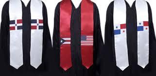 cheap graduation stoles non personalized hispanic flags stoles graduation stoles