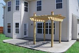 Outdoor Concrete Patio Designs Backyard Cement Patio Ideas Free Home Decor Techhungry Us