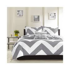 light grey comforter set bed bath white and light grey chevron comforter sets for
