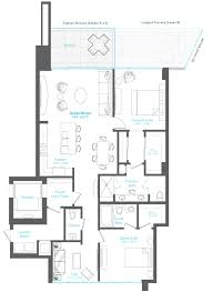 the vue floor plans residence f 2 bd 2 5 br vue sarasota bay