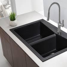 black kitchen sink faucets granite kitchen sinks kraususa