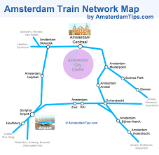 netherlands metro map pdf amsterdam rail network map ns stations and trains