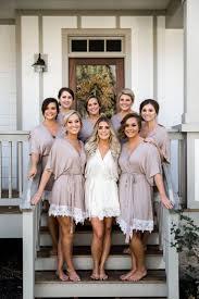 bridesmaids robes cheap best 25 bridal robes ideas on wedding
