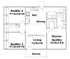 3 bedroom floor plans with garage small garage house plans single floor 1 story house plans 3