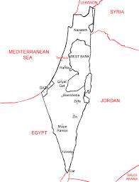 Blank Map Of Ancient Egypt by How To Draw Israel 13 Steps With Pictures Wikihow