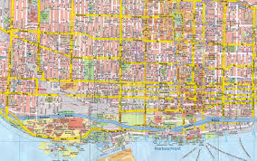 Maps Canada by Chinatown Toronto Map Toronto Chinatown Map Canada
