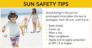 summer safety for kids and adults