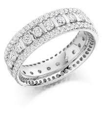 eternity rings images Graduated triple row diamond set ring fet 1371 44 0 207 jpg