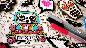 day of the dead drawings how to draw holy by garbi kw