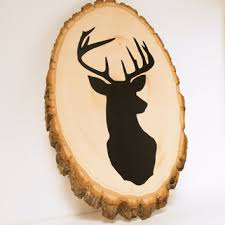 deer decor for home best wood deer wall decor products on wanelo