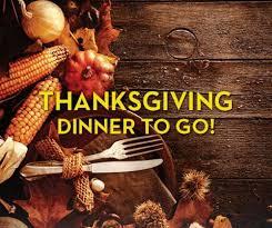 charleston restaurants offering thanksgiving dinner to go 2017