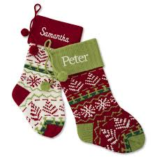 personalized christmas stockings at things remembered
