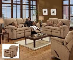 Chenille Reclining Sofa by Radar Upholstery Simmons 53684 Sofa Love Seat Rocker Recliner