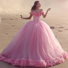 quinceanera pink dresses floral wedding dress gown pink bridal gowns prom party gown