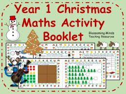 year 1 christmas activity booklets bundle by blossomingminds