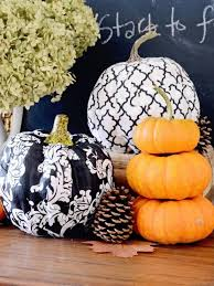 pumpkin black and white pumpkin