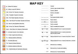 map legend symbols what is a geologic map part 3