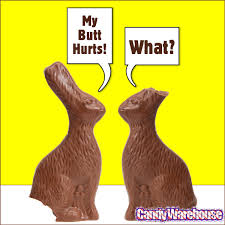 easter chocolate bunny foiled solid milk chocolate 12 ounce easter bunny easter bunny
